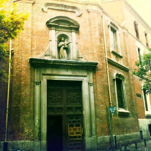 Iglesia de San Antonio de los Alemanes en Madrid