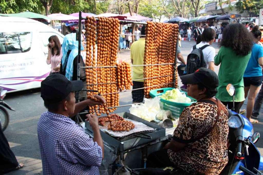 El mercado de Chatuchak en Bangkok (Tailandia)