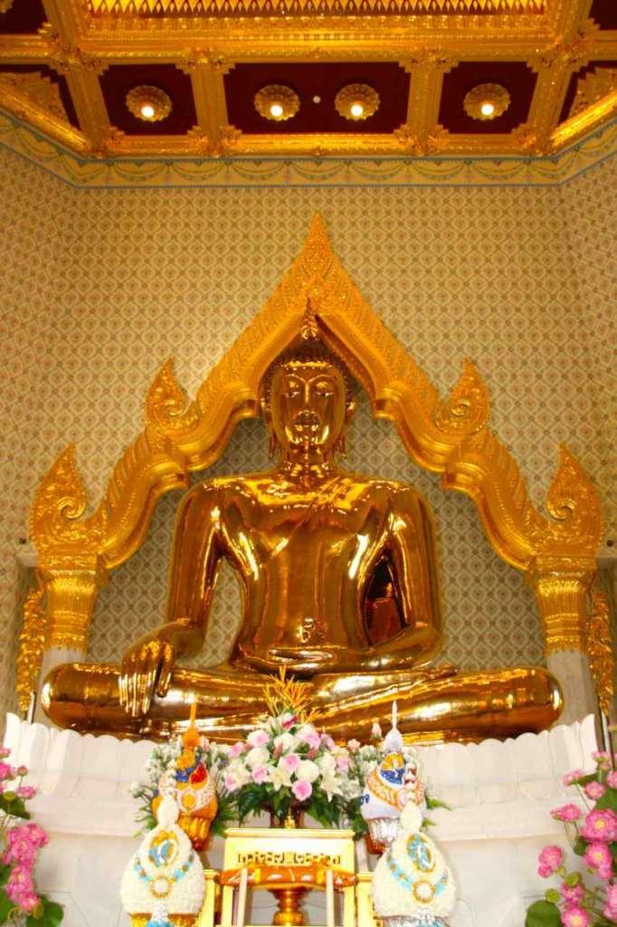 El Templo del Buda de oro o Wat Traimit en Bangkok