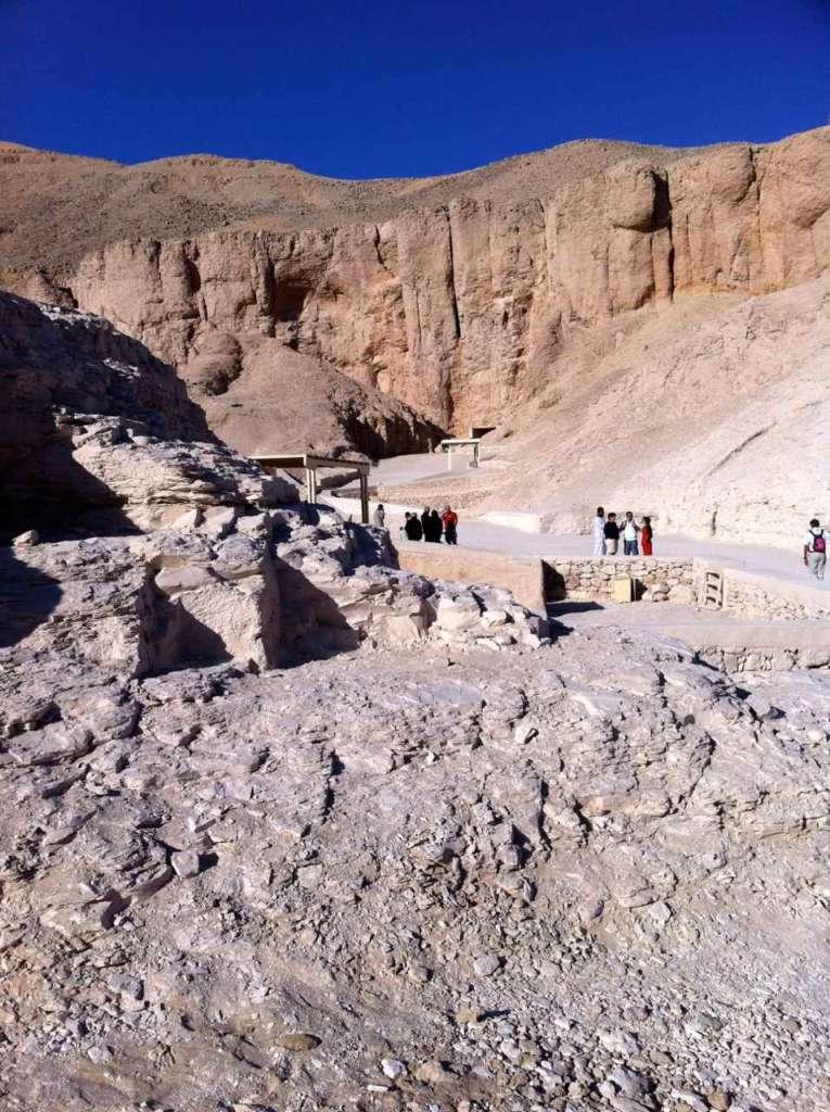 El Valle de los Reyes en Luxor, antigua Tebas (Egipto)