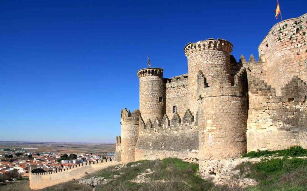 El Castillo de Belmonte en Cuenca (España)