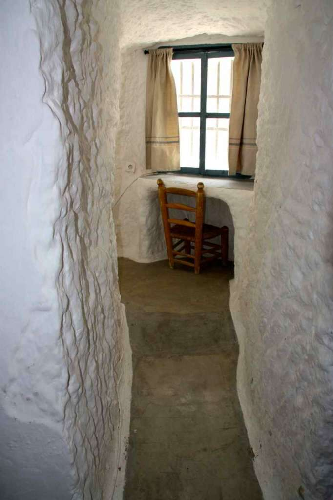 Las casas cuevas de Al Jatib en Baza (Granada)