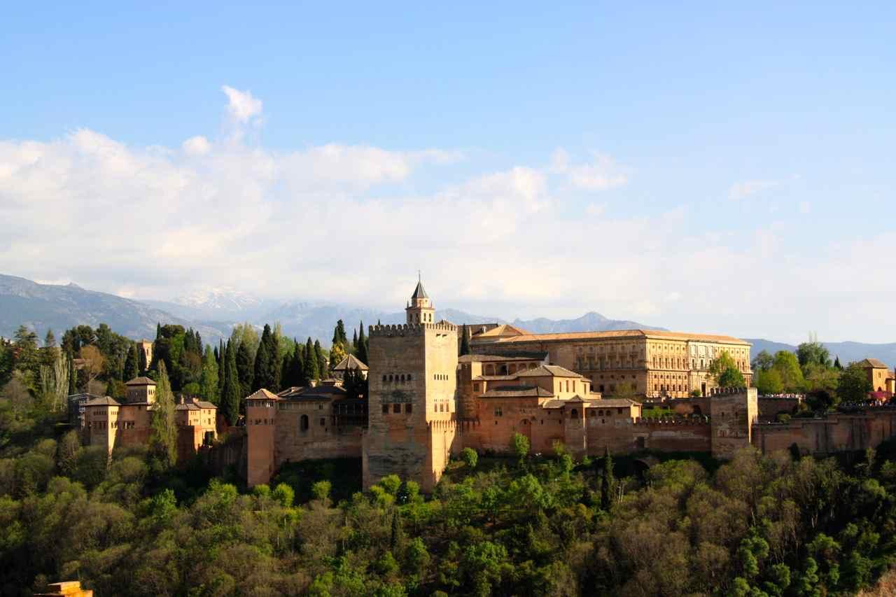 Alhambra de Granada. Andalucía, España.