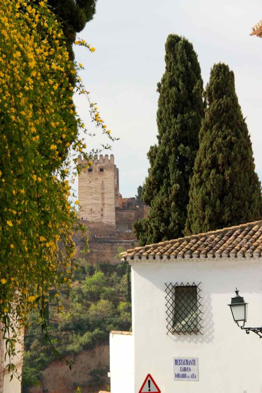 Albaicín en Granada (Andalucía, España)