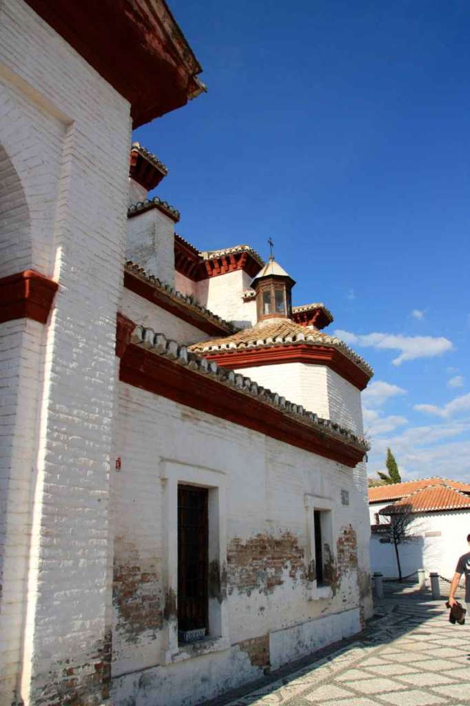 Ábside de la Iglesia de San Nicolás, Albaicín, Granada.