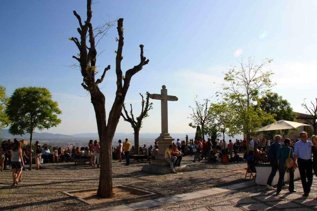 Mirador de San Nicolás, Albaicín, Granada.