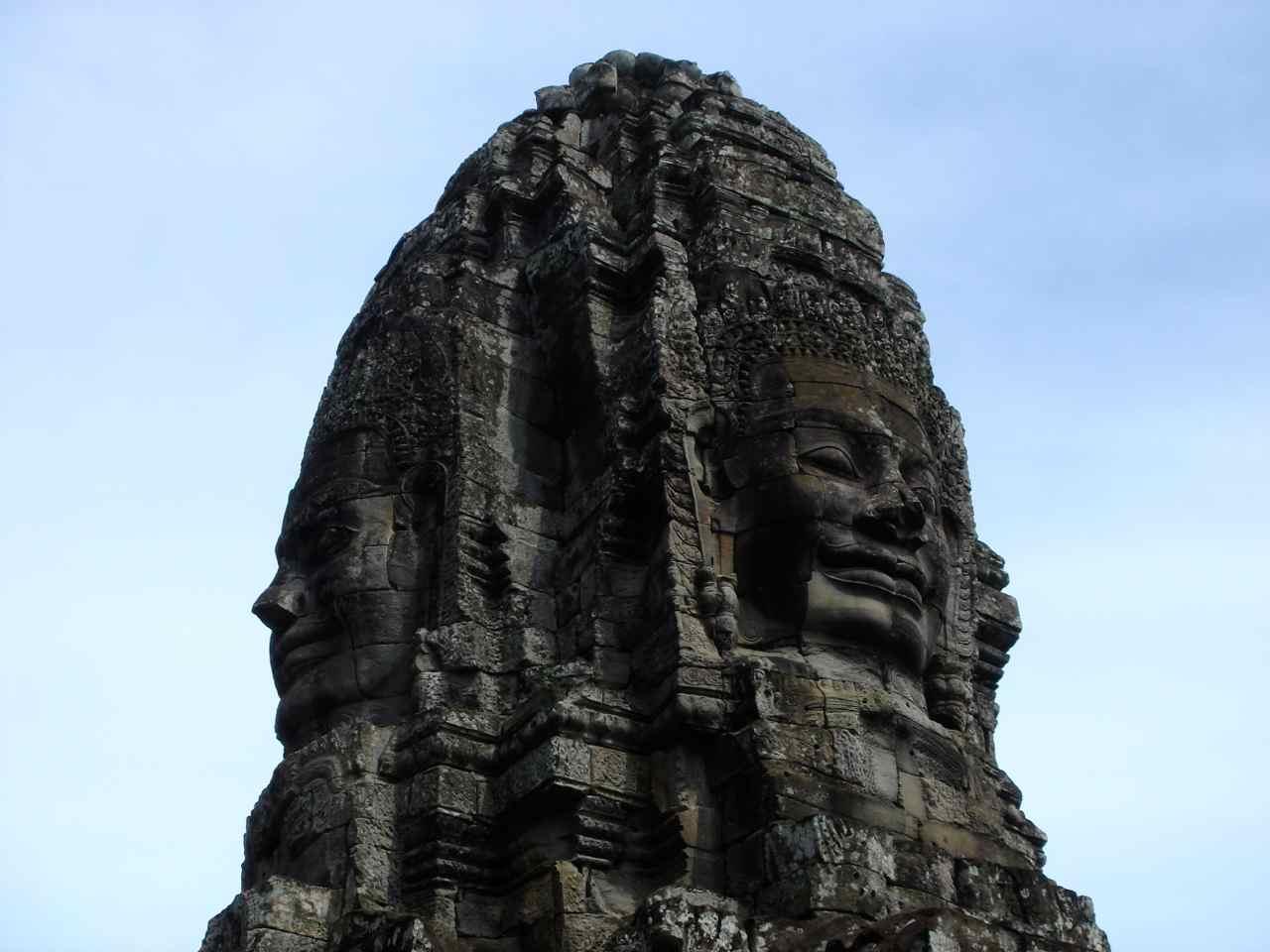 El Templo de Bayon en Angkor (Camboya) - El hombre que viaja