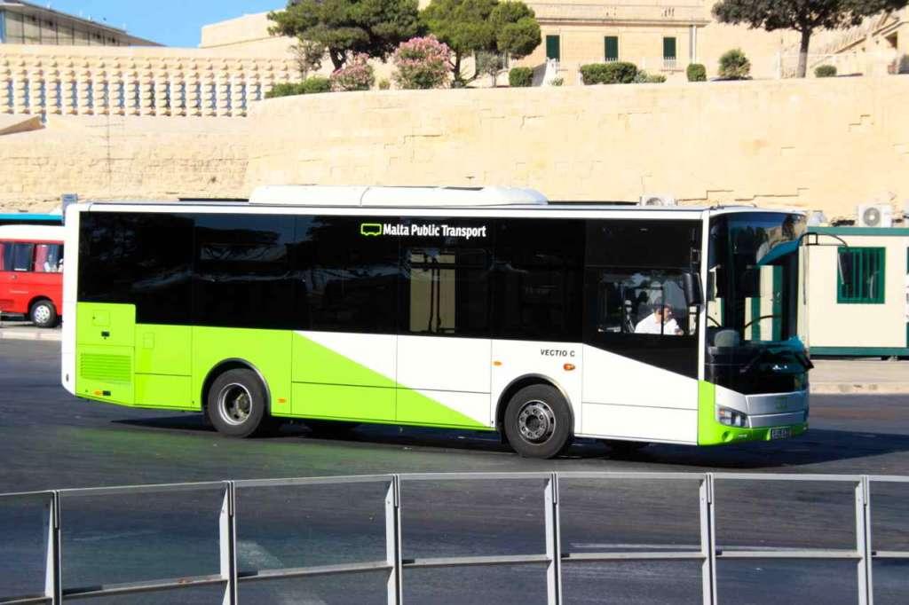 Malta Public Transport - Autobús transporte público de Malta.