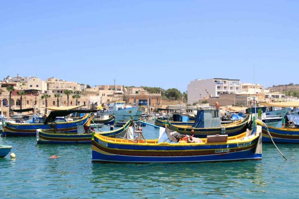 puerto pesquero, Marsaxlokk.