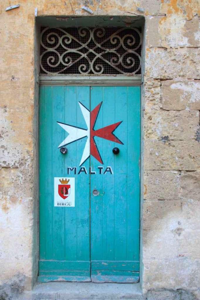 puerta de Vittoriosa, Malta.