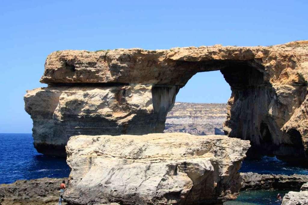 Ventana de Azure - Azure Window - Malta