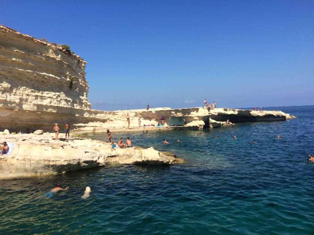 La Piscina de San Pedro (St. Peter's Pool) en Malta.
