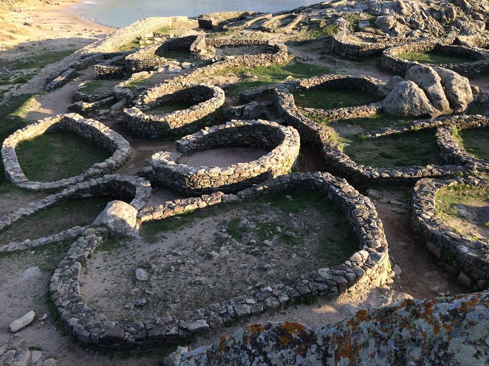 El Castro de Baroña en Porto do Son