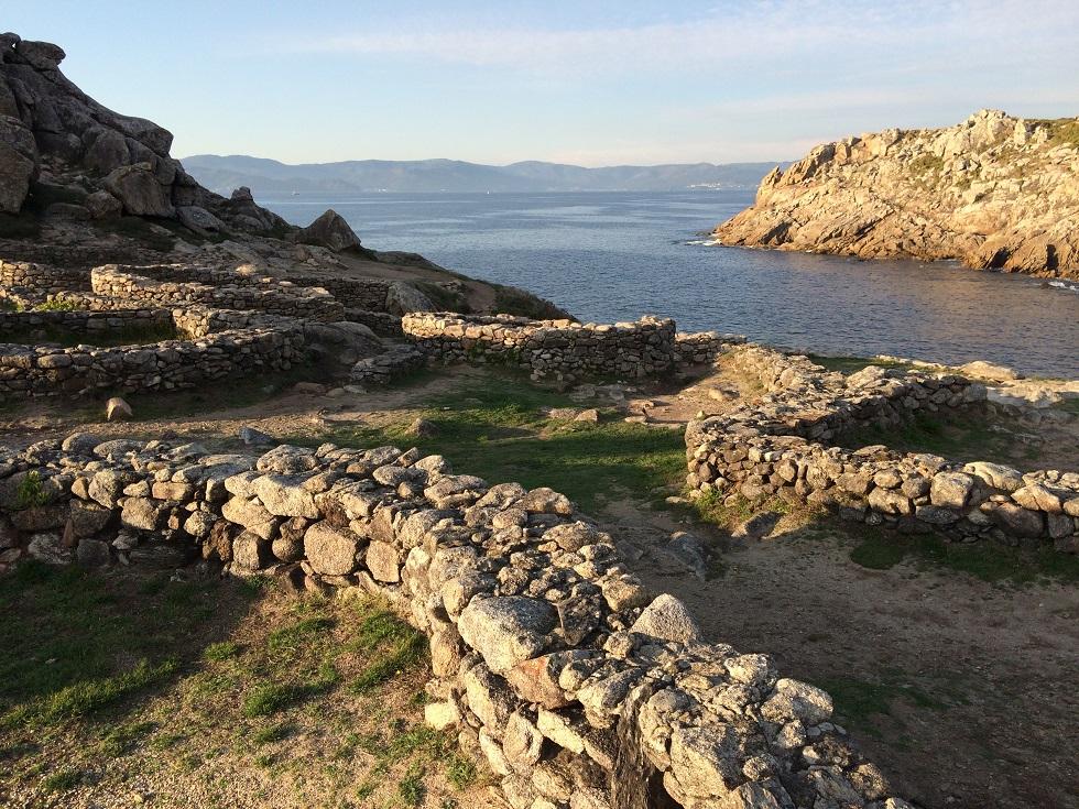 El Castro de Baroña en Porto do Son (Galicia)