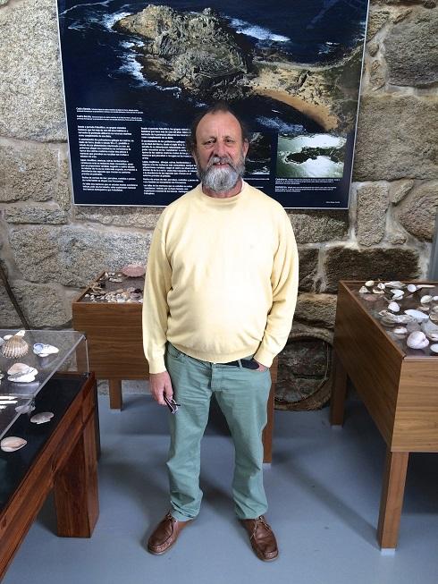 Jose Luis Escalante. Conservador del Museo de la Pesca y la Salazón de O Grove.
