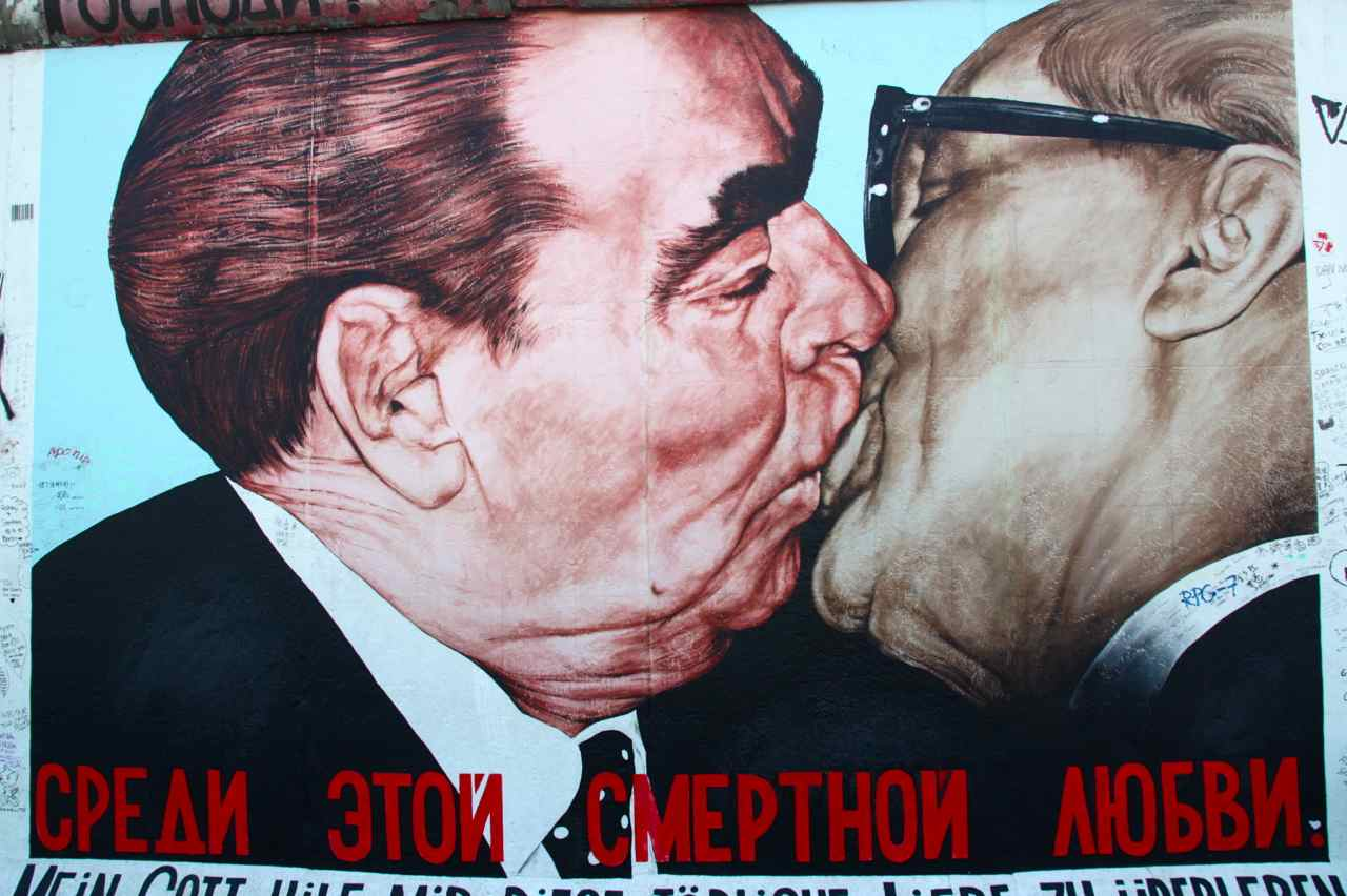 La East Side Gallery de Berlín