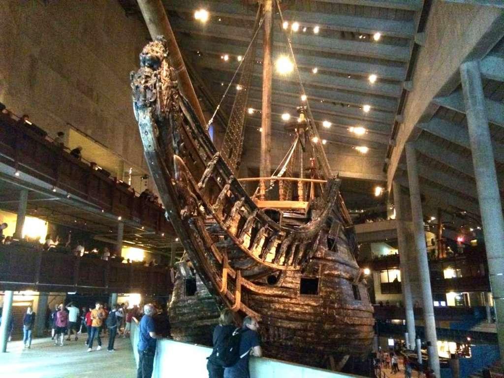 El museo Vasa en Estocolmo