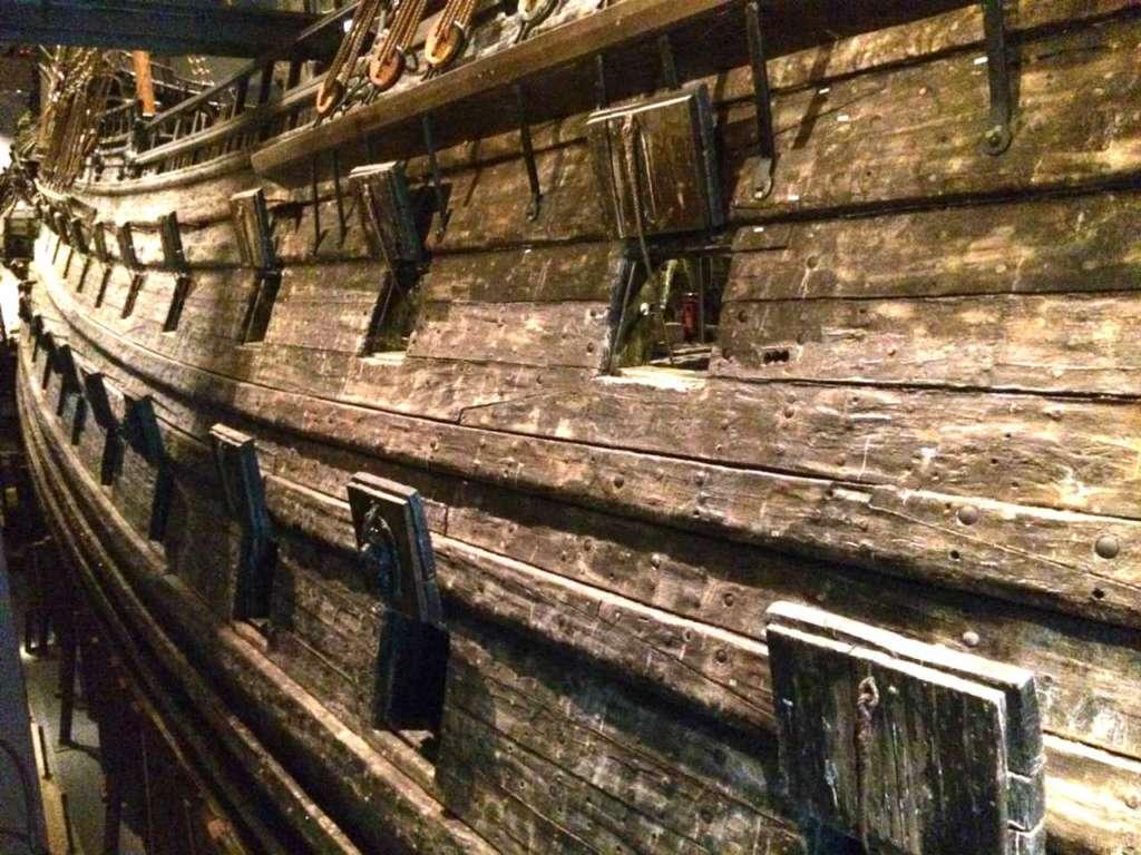 El museo Vasa en Estocolomo, Suecia