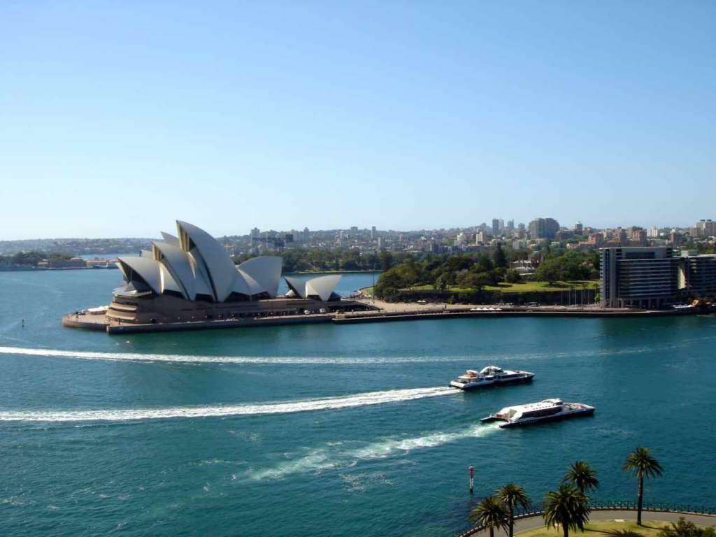 La Ópera de Sidney (Sydney Opera House)