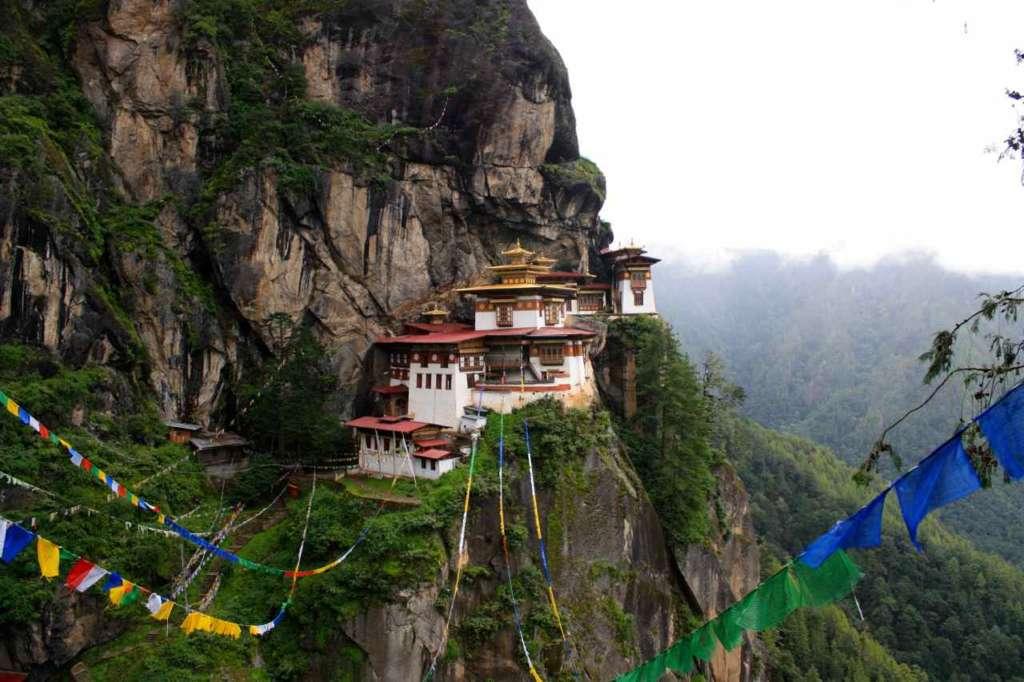 El Nido del Tigre, Tiger nest, Bután