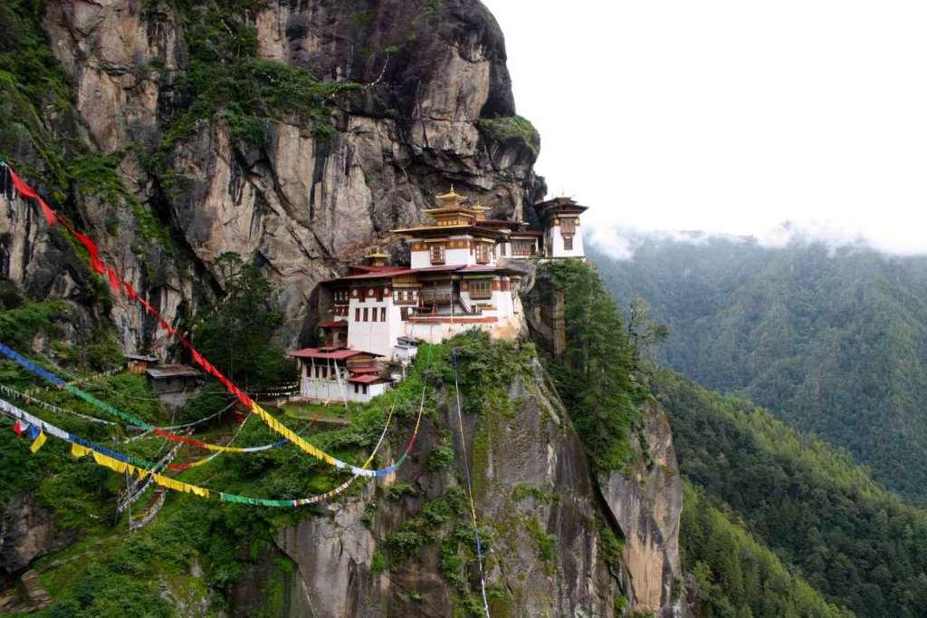 El Nido del tigre en Bhutan