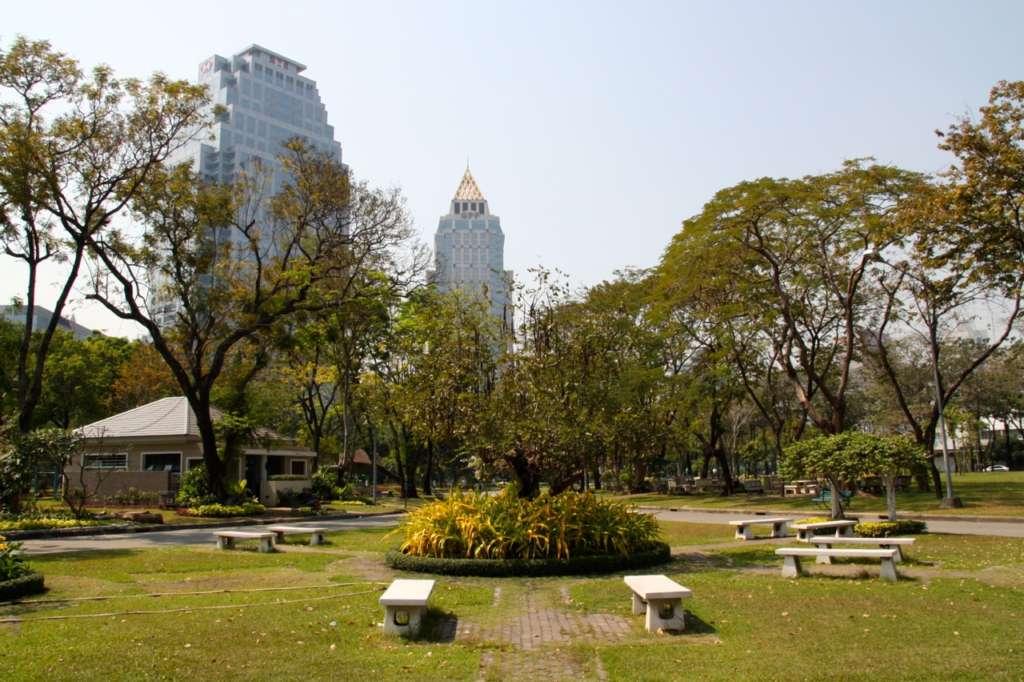 Lumpini Park en Bangkok